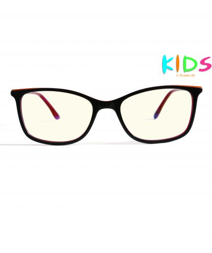 kids blue light blocking glasses girls red