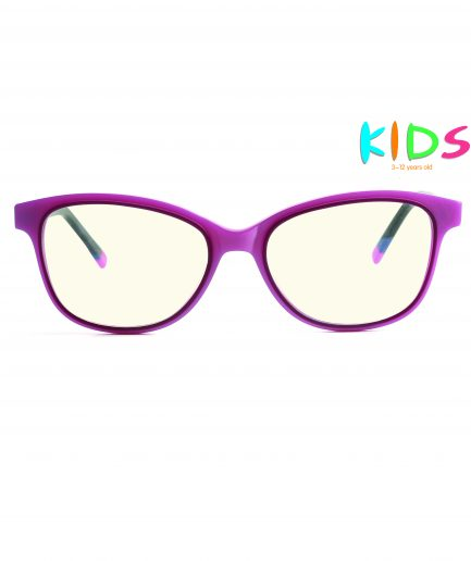 pink kids blue light blocking glasses girls pink