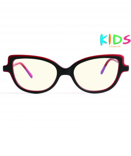 kids blue light blocking glasses girls cateye